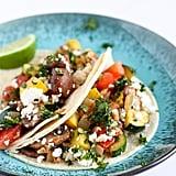 Simple Veggie Soft Tacos