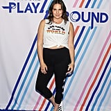 Candice Huffine Wearing Day/Won Activewear