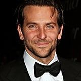 Bradley Cooper sported a tux.
