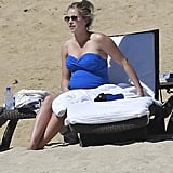 Pregnant Candice Crawford visited Cabo.