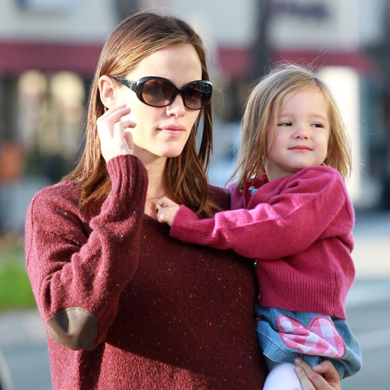 Jennifer Garner & Ben Affleck With Seraphina in LA Pictures