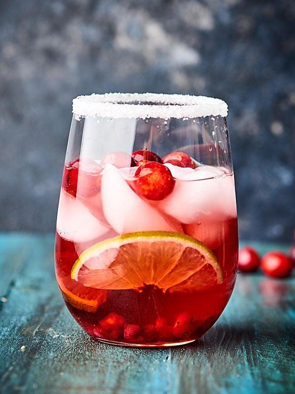 Cranberry Pomegranate Margarita