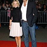 Amy Poehler and Will Arnett in 2004
