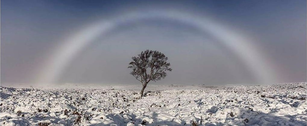 The Story Behind This Rare Photo of a White Rainbow Will Take Your Breath Away