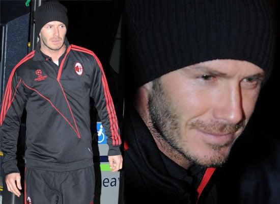 Photos of David Beckham at Old Trafford