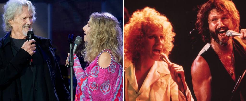 Barbra Streisand Kris Kristofferson at Hyde Park Duet Video