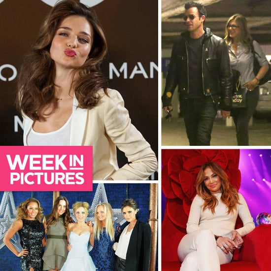 The Week in Pictures: Miranda Kerr for Mango, Jen & Justin, The spice girls and more!