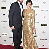 Curtis Stone attended the event with Lindsay Price.