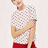 Topshop Heart Pyjama Set