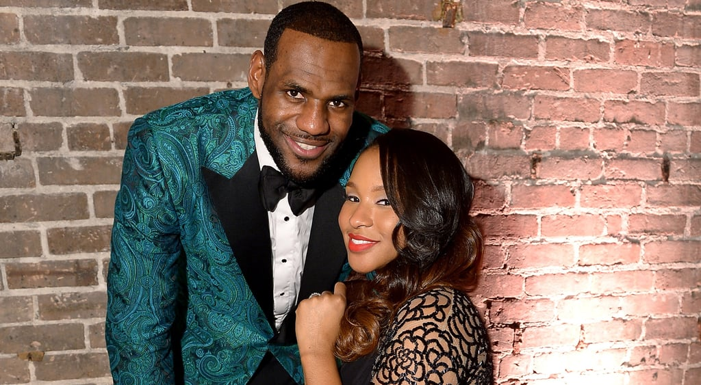 dc35ac633f9f LeBron James and Savannah Brinson Have a Baby Girl. LeBron James and His Wife  Welcome ...