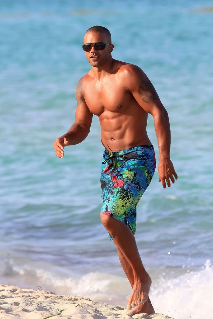 Have shemar moore nude think, that