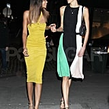 """Chanel Iman and Karlie Kloss attended """"Runway to Win."""""""