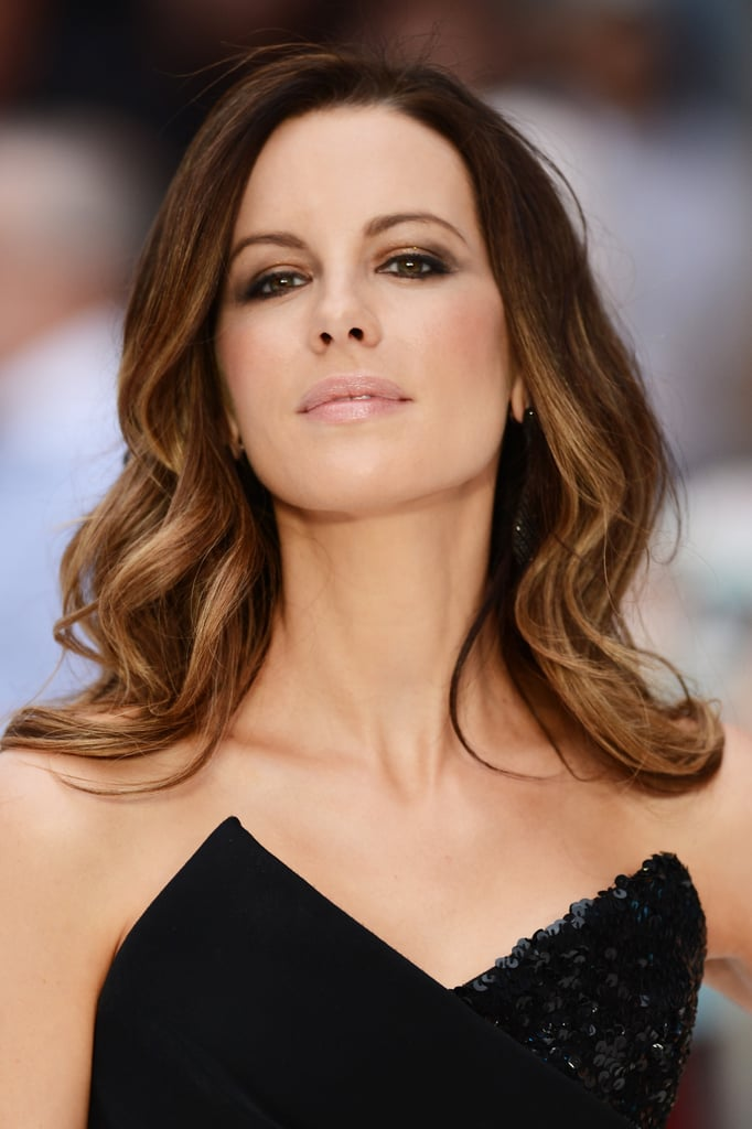 Kate Beckinsale stunned at the UK premiere of Total Recall.