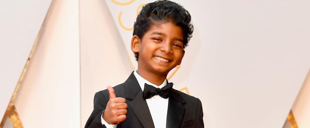 Sunny Pawar at the 2017 Oscars
