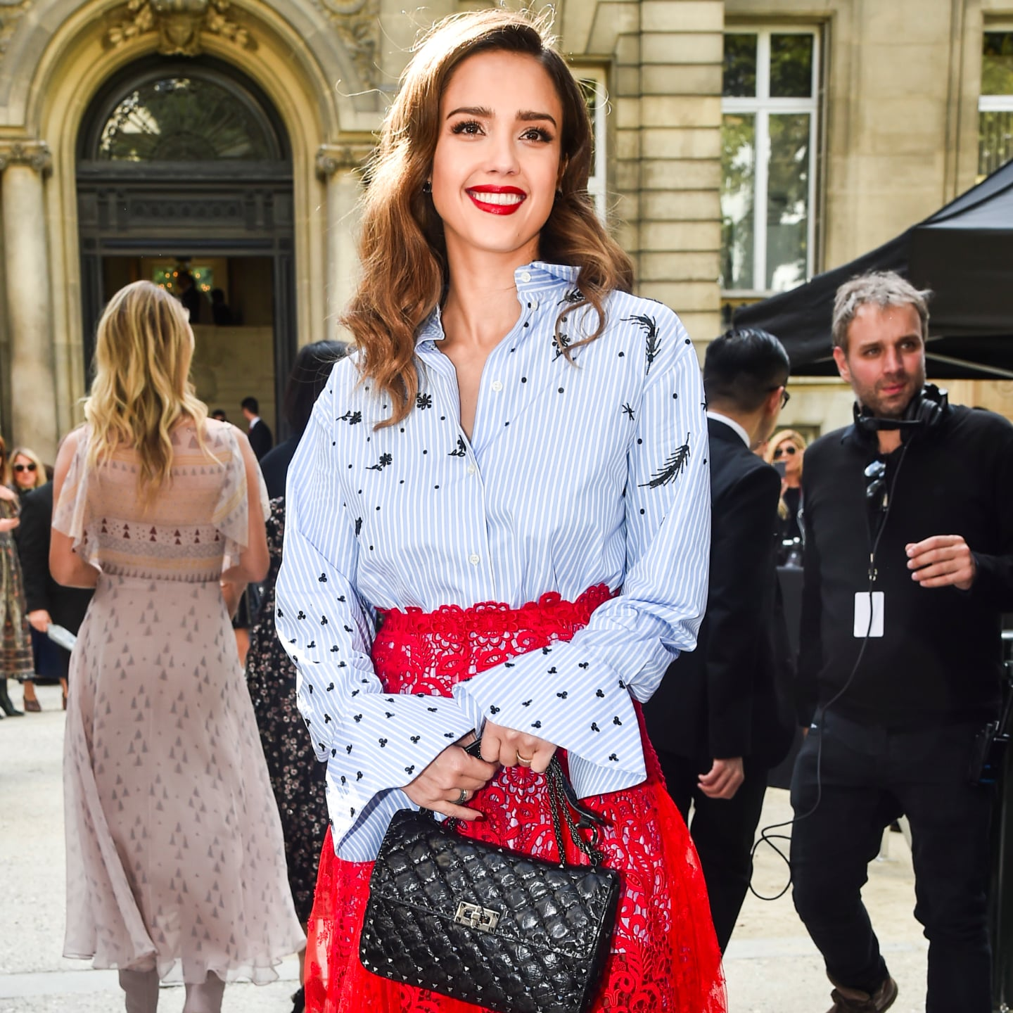 2019 year for girls- Fashion paris week spring front row