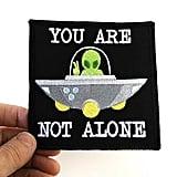 Iron On UFO Patch