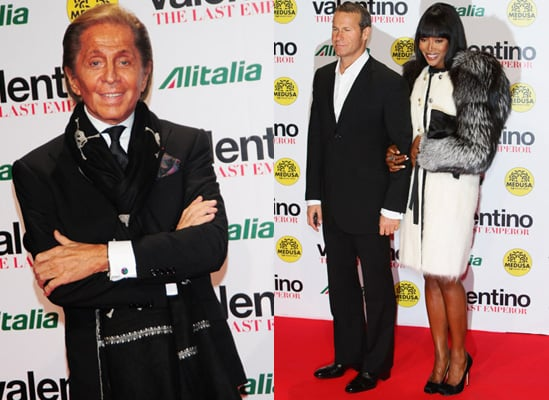 Photos of Celebrities at the Milan Premiere of The Last Emperor