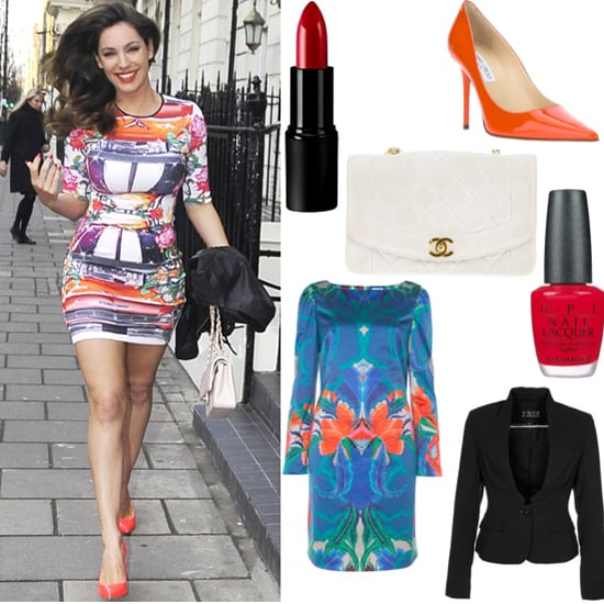 Kelly Brook Celebrity Style