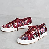 Superga Embroidered Satin Sneakers