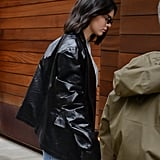 Say Goodbye to Your Moto Coat; Kendall Jenner's Leather Blazer Is Where It's At