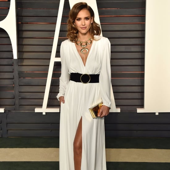 Jessica Alba Dress at Oscars Vanity Fair Party 2016