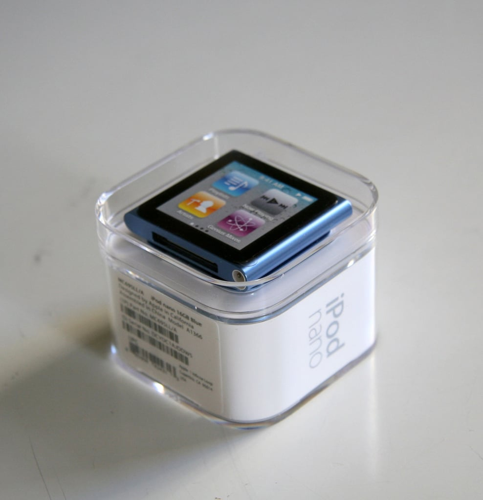 Photos of New iPod Nano