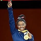 How Many World Championship Medals Has Simone Biles Won in the All-Around?