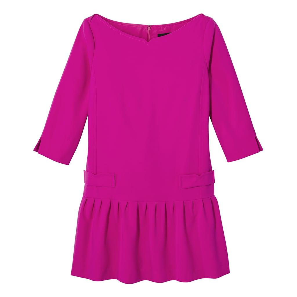 Fuchsia Jacquard Drop Waist Dress ($40)