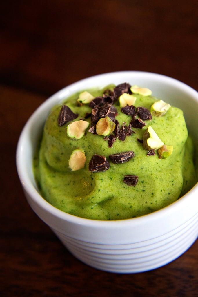 Vegan Banana (Spinach) Ice Cream