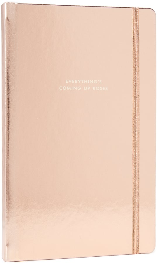 Kate Spade Everythings Coming Up Roses Large Notebook ($22)