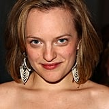 Elisabeth Moss's unique earrings.