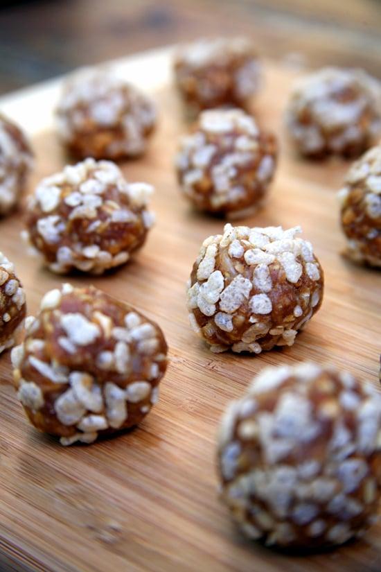 Crispy Peanut Butter Protein Balls