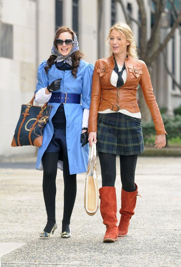 Gather Inspiration From Iconic Films Like Thelma u0026 Louise | Blair Waldorfu0026#39;s Best Style | Gossip ...