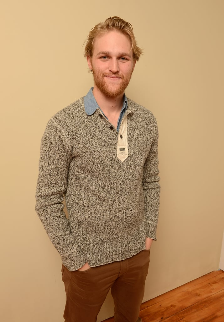 When it comes to Goldie Hawn and Kurt Russell's adorable family, you're probably much more familiar with their oldest kids, Kate and Oliver Hudson. But we're not here to talk about them. Instead, we're here to discuss another member of their family that isn't getting far enough attention, in our humble opinion: Wyatt Russell. Usually sporting a lumberjack beard that would make Mark-Paul Gosselaar proud and a smile that we're happily blinded by, the up-and-coming actor — who is currently dating Search Party actress Meredith Hagner — has been charming the pants off of audiences in small (but memorable) film roles over the last few years. Whether the 30-year-old is making you laugh in comedies like 22 Jump Street and Everybody Wants Some! or scaring the sh*t out of you in Black Mirror, we can probably all agree that he's top-tier crush material.       Related:                                                                Kate Hudson and Goldie Hawn Couldn't Possibly Have More Fun Together                                                                   Kurt Russell and Goldie Hawn's Reaction to Seeing the Paparazzi Isn't What You'd Expect