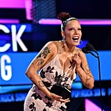 Halsey at the American Music Awards 2019