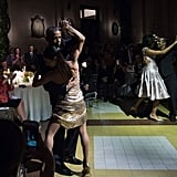 Barack and Michelle Obama Dancing the Tango in Buenos Aires