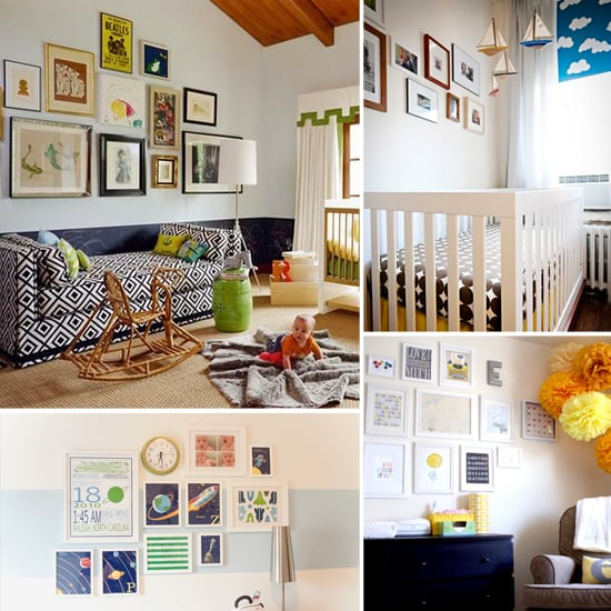 Design Idea: Gallery Walls For Nurseries