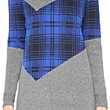 Thakoon Plaid Combo Sweater Dress ($550)