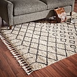 Rivet Shag Diamond Moroccan Area Rug