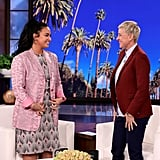 Photos of Demi Lovato on The Ellen DeGeneres Show