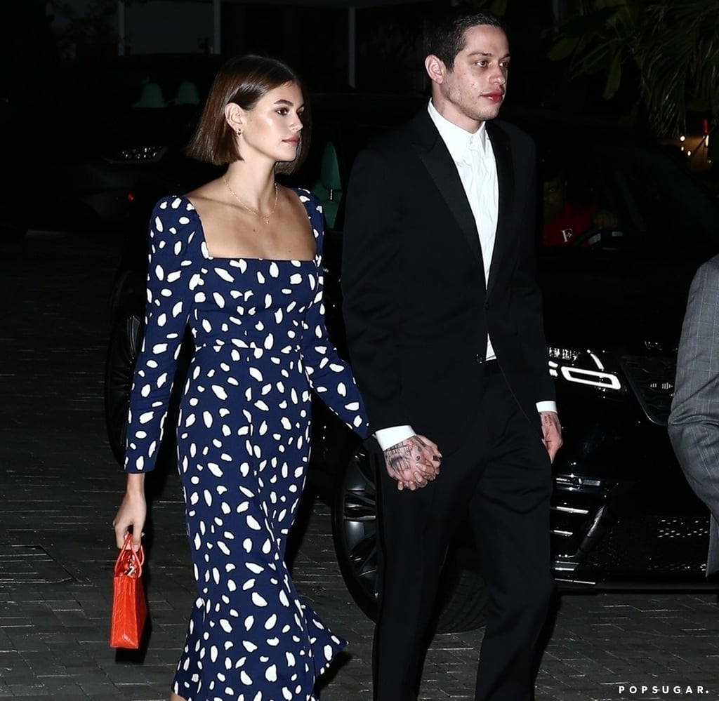 Kaia Gerber Wears a Reformation Dress to a Miami Wedding