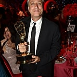 Jon Stewart celebrated The Daily Show's Emmy win at the Governors Ball.