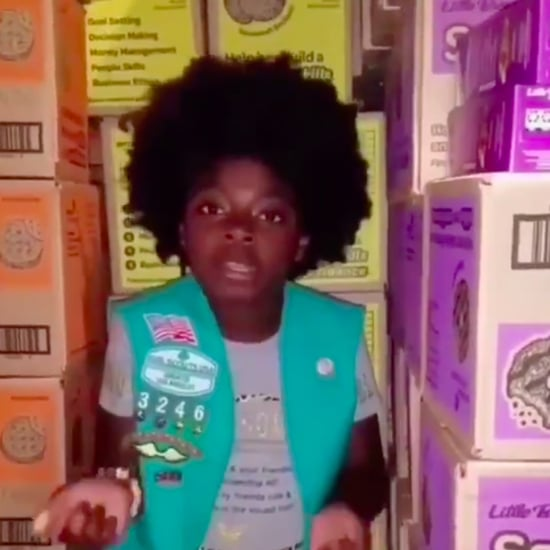 """Girl Scout Rapping Cardi B's """"Money"""" Video"""