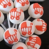 Baby Carriage Cake Pops
