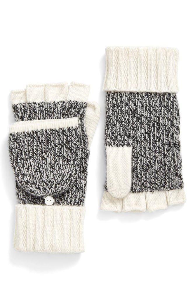 Help someone special brave the Winter in style with these Rag & Bone Francesca Convertible Cashmere Mittens ($150).