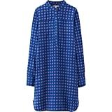 Uniqlo Flannel Printed Shirt Dress