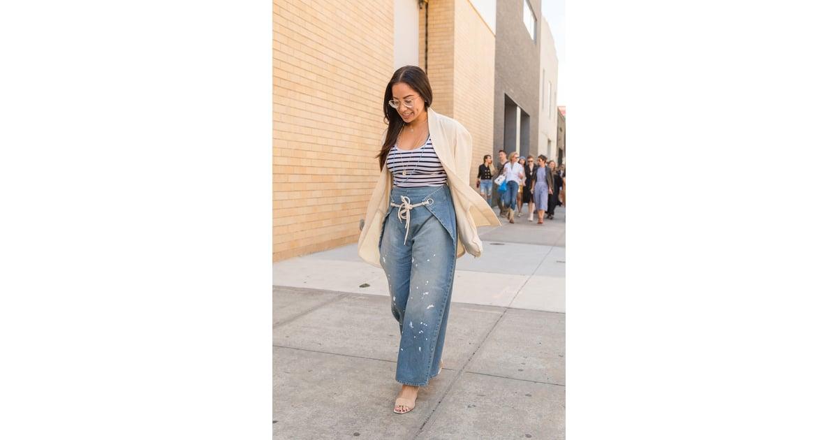 New York Fashion Week Day 2 New York Fashion Week Street Style Spring 2016 Popsugar Fashion
