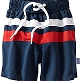 i Play's easy colorblock boardshorts ($14-$22) offer UPF 50+ sun protection, making them a no-brainer for sun-smart mamas.