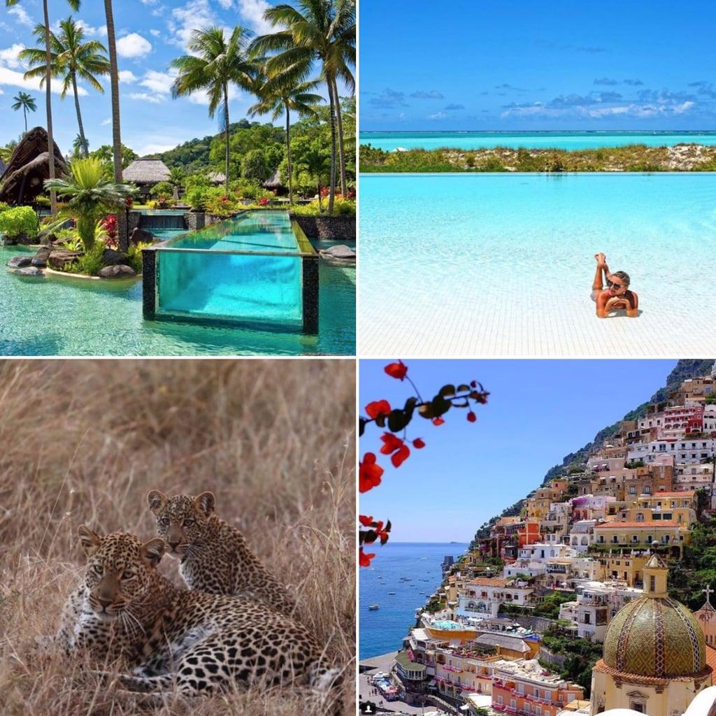 Celebrity honeymoon destinations popsugar celebrity for Best places for honeymoons