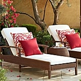 Pottery Barn Palmetto All-Weather Wicker Chaise ($124)